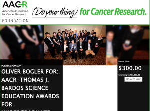 Oliver_Bogler_for__AACR-Thomas_J__Bardos_Science_Education_Awards_for_Undergraduate_Students